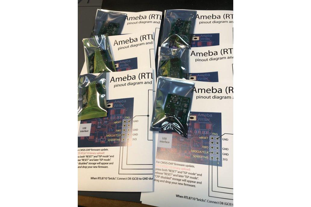 Ameba (RTL8710) programmer for Arduino IDE 5
