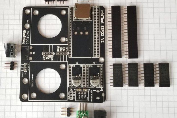 midTbot ESP32 V2 Controller Kit