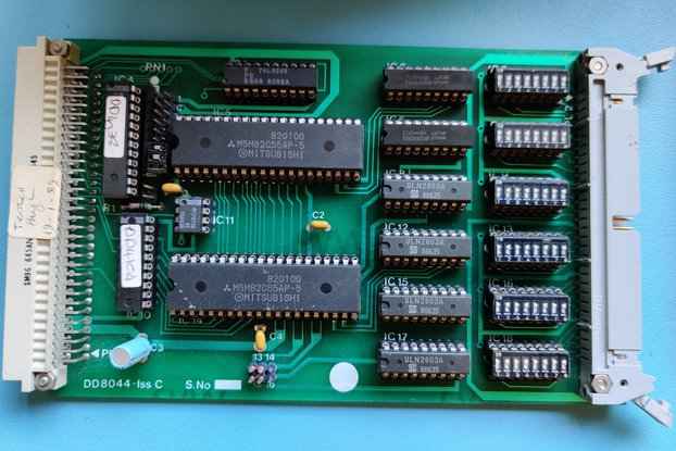 Selection of Eurocard Z80 Expansion Cards