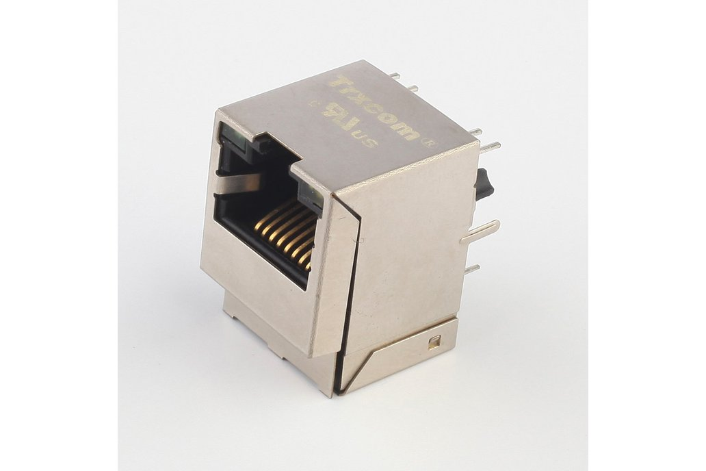 10/100Base-T Vertical RJ45 Connector HY951180A 1