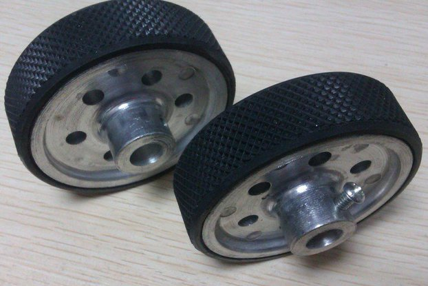 Alloy Metal 6/8mm Wheel 65mm Width 18mm