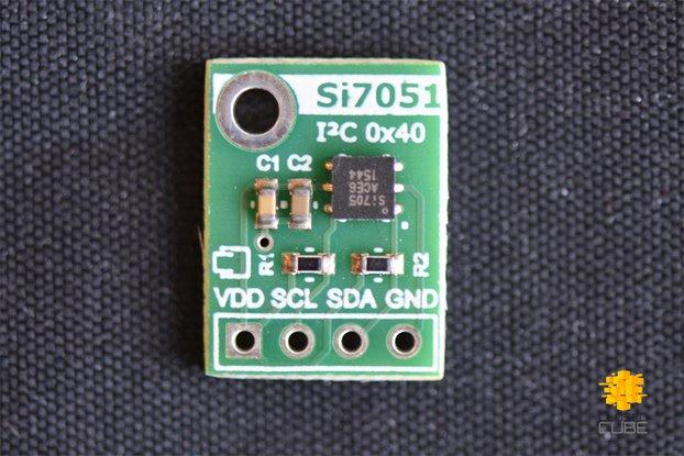 Si7051 ±0.1°C (max) Digital Temperature Sensor