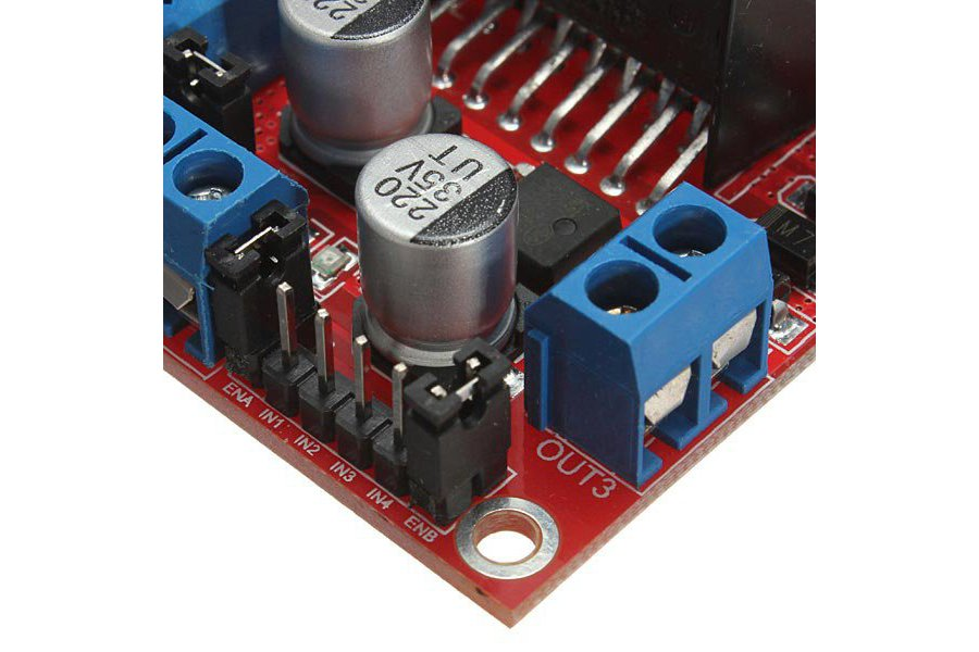L298N Dual H Bridge DC Stepper Motor Driver Module Controller Board For Arduino