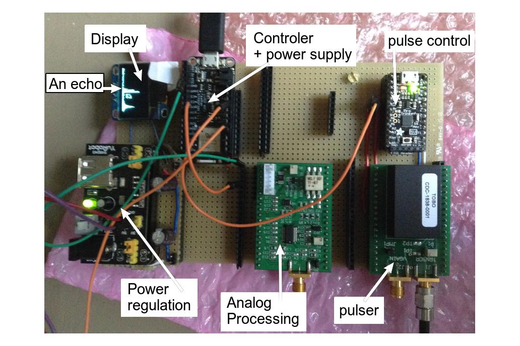 Ultrasound imaging analog processing module 6
