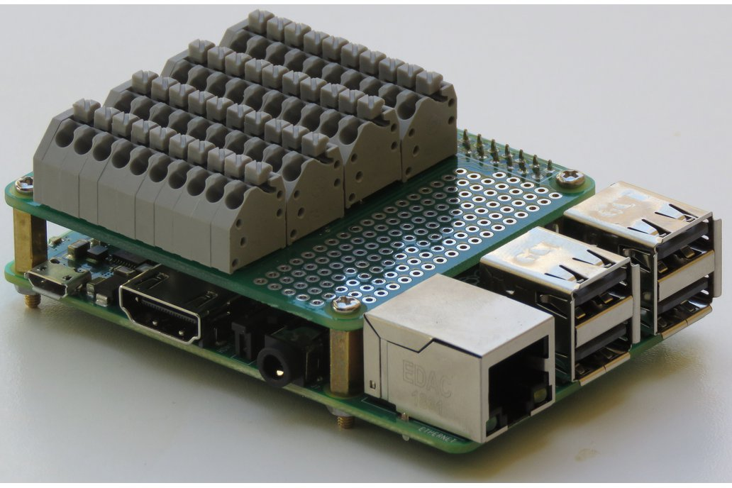 Spring-loaded Breakout Board for Raspberry Pi 1