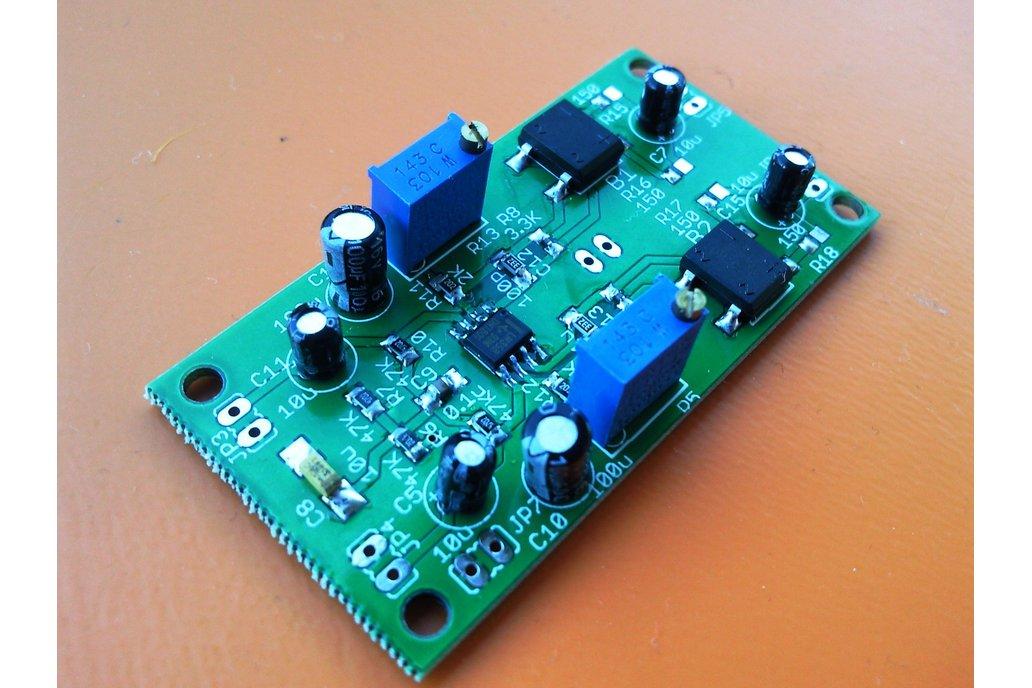 Analog VU meter driver board 1