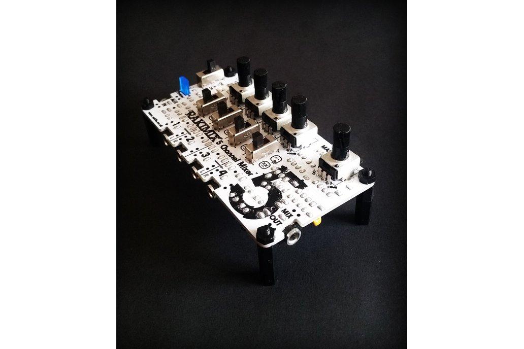 Rakimix 5 Channel Mixer Kit 2