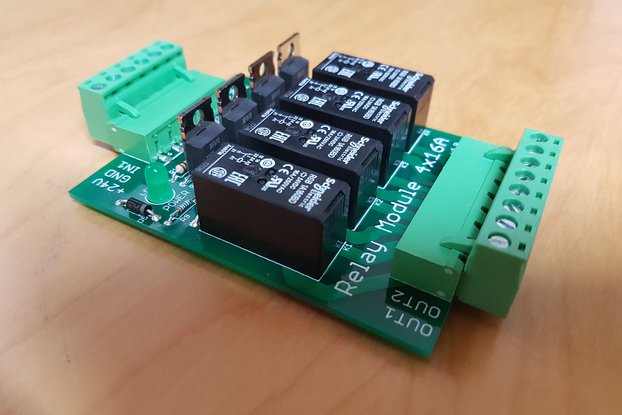 Relay Extension 4x16A (for DIN Rail mounting)