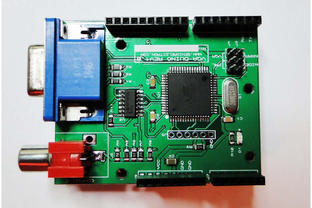VGA DUINO - VGA Graphic Shield for Arduino 5