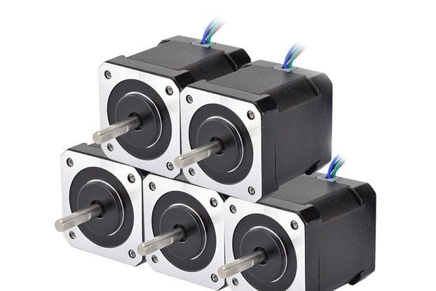 5 PCS Nema 17 Stepper Motor 59Ncm(84oz.in)