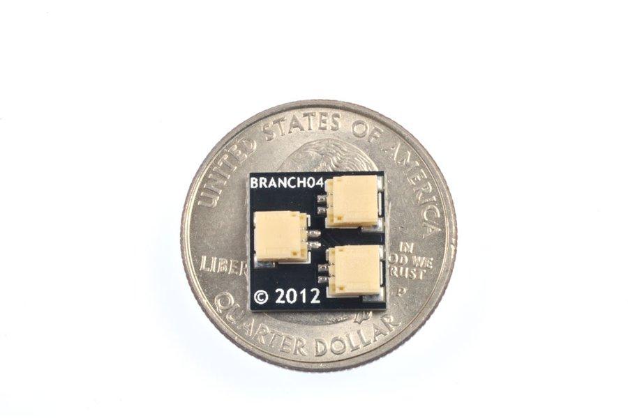 Brickstuff 1:2 Expansion Adapter (4-Pack)