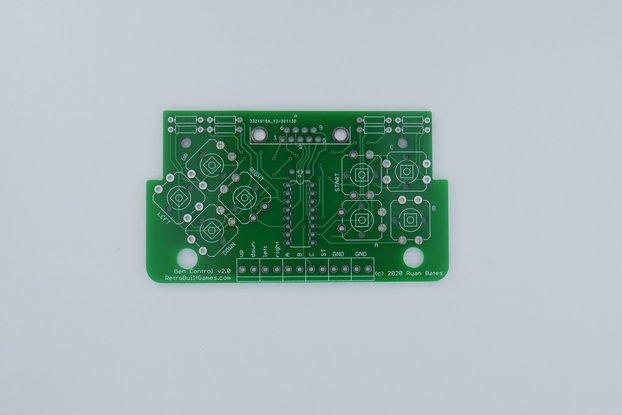 PCB for Sega Genesis [Mega Drive] 3-btn Controller