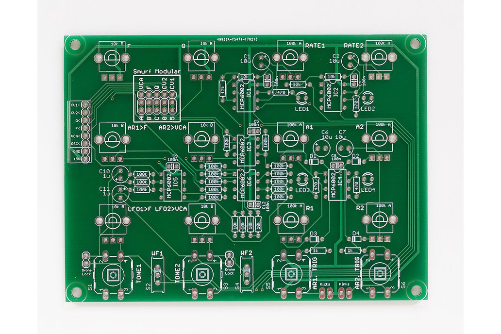 Shruthi Sidekick PCB 1