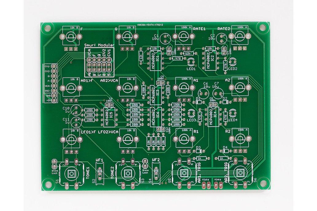 Shruthi Sidekick PCB 1