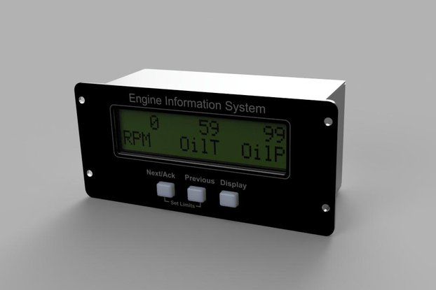 Aircraft Engine Monitor Kit- 6 cylinder
