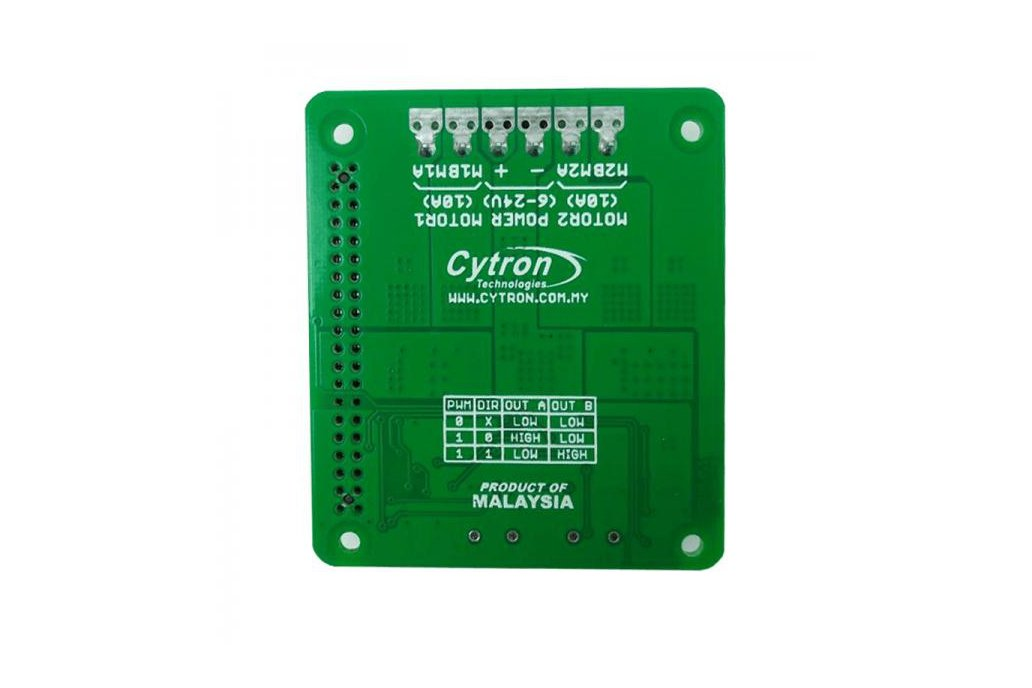 2x10A Motor Driver HAT For Rasberry PI 2