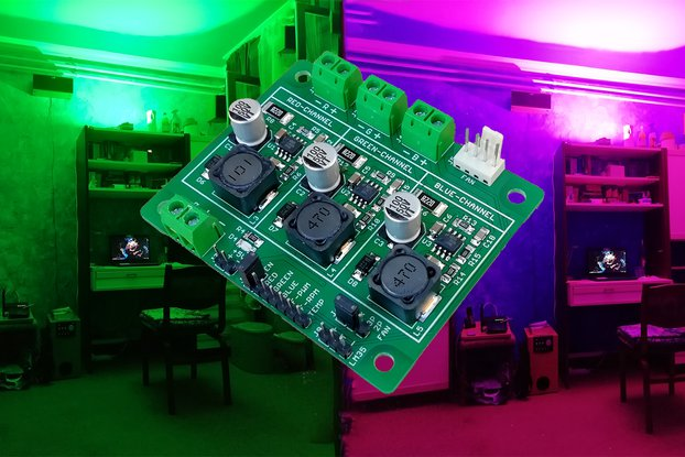 High-Power RGB-LED Driver V1.3X