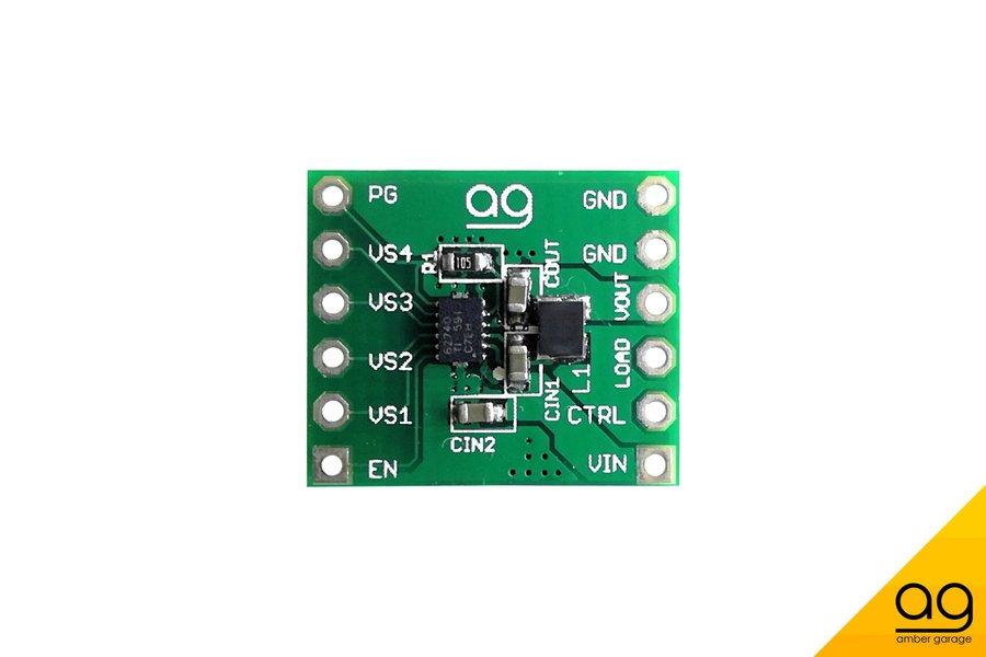 TPS62740 - Ultra low power step down regulator