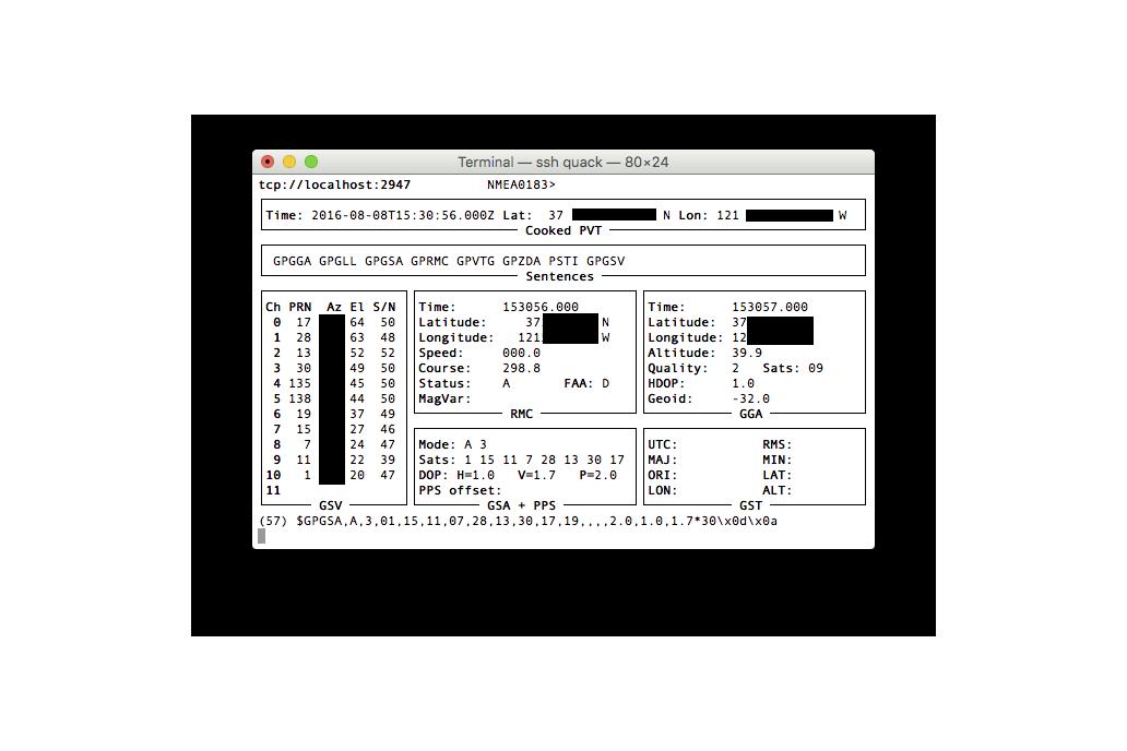SkyTraq Venus838LPx-T Timing GPS module breakout 3