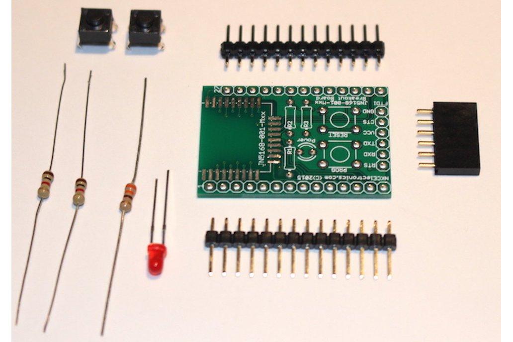JN5168 breakout PCB KIT 1