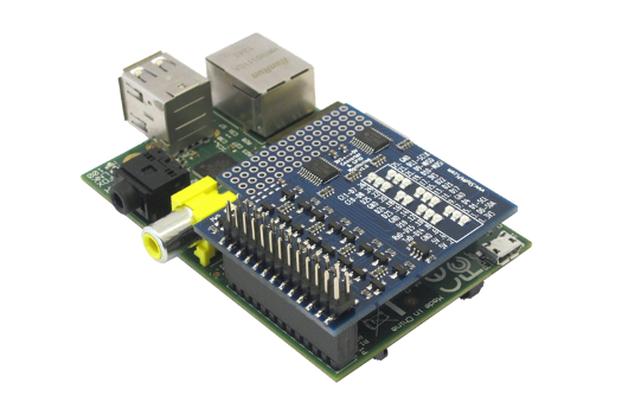 ConvertPi: RPi GPIO Level Converter & Monitoring