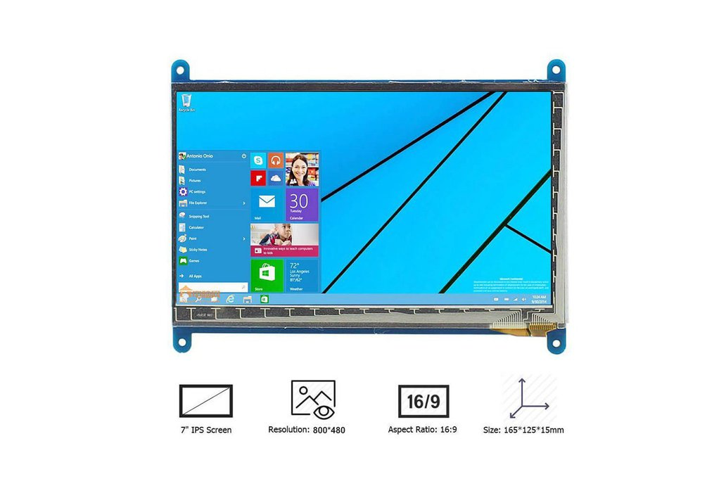 7 Inch Touch Screen Monitor 2