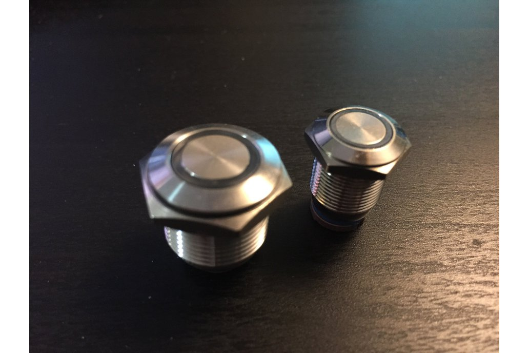 "12mm and 16mm Antivandal RGB ""Colorpixel"" Buttons 3"