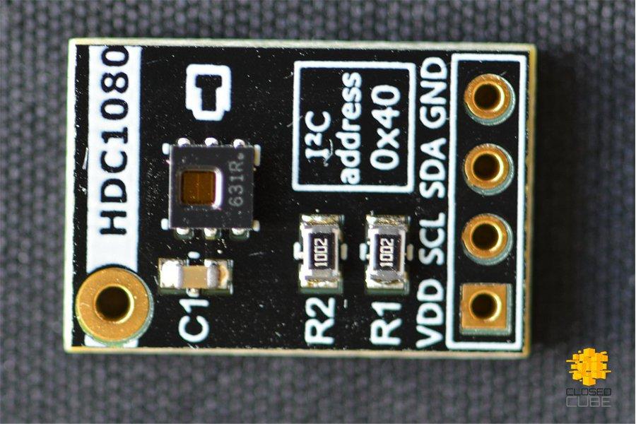 HDC1080 High Accuracy Humidity/Temperature Sensor