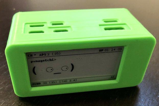 3D printed Pwnagotchi case