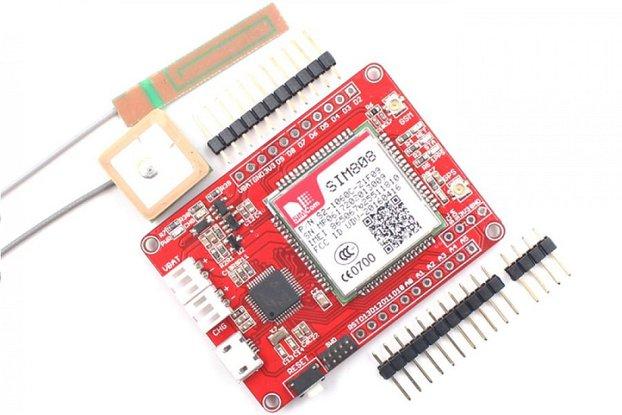 Maduino Zero SIM808 GPS Tracker