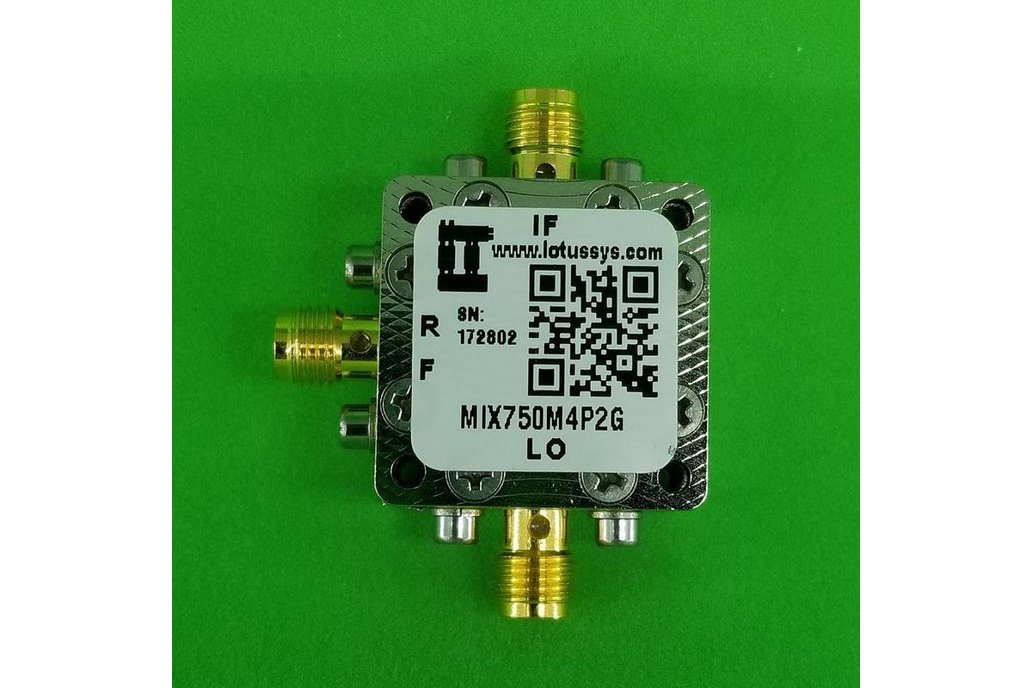 Frequency Mixer 750M - 4.2GHz RF (Passive) 1
