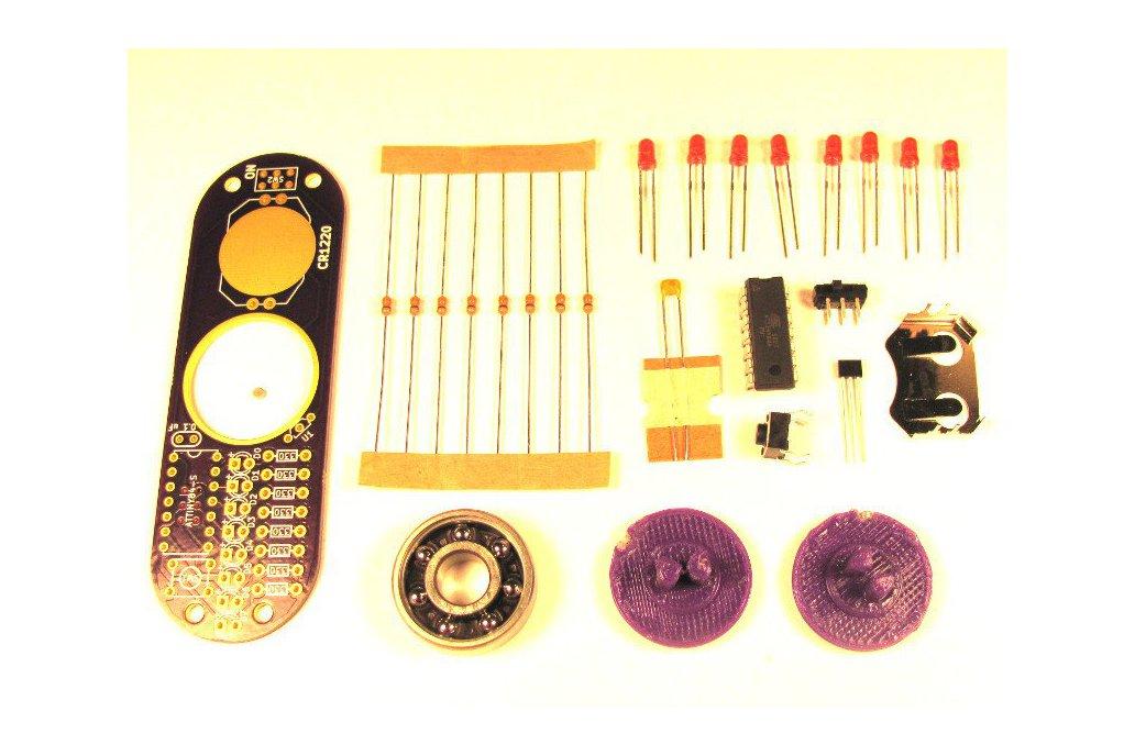 Programmable POV Fidget Spinner 2