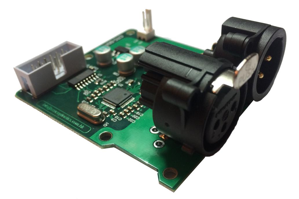 SPI to DMX controller 1