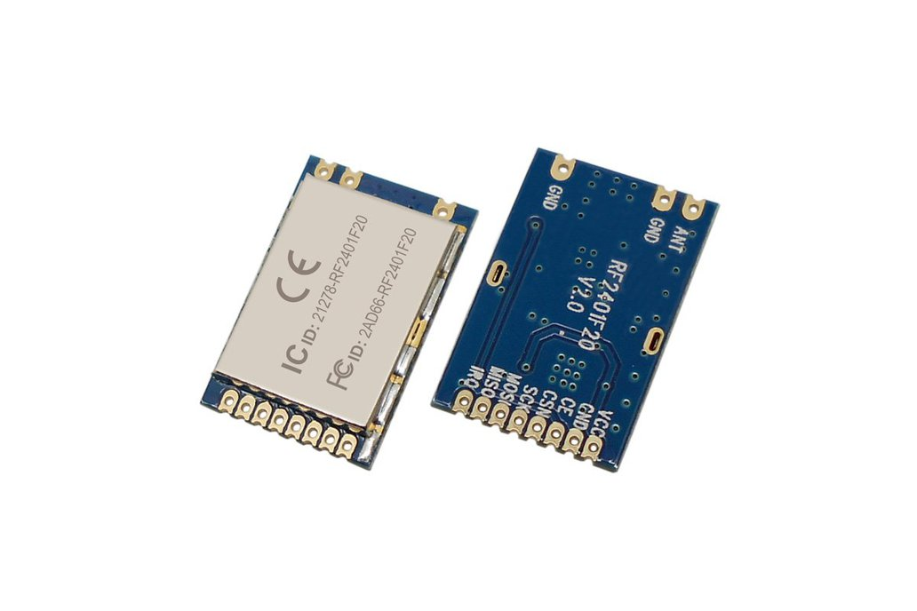 2pcs RF2401F20 2.4G Wireless Transceiver Module  3