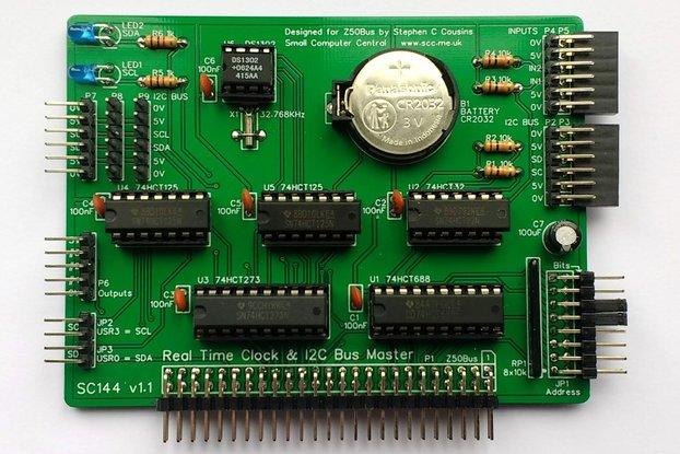 SC144 RTC & I2C Card Kit for Z50Bus