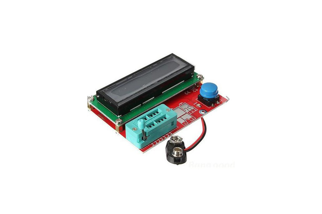 SMD/DIP Transistor Tester Diode Triode Capacitance ESR Meter MOS PNP NPN 1