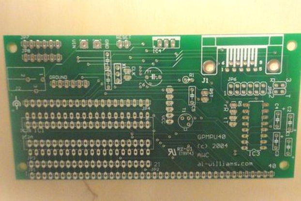Universal DIP Microcontroller PCB