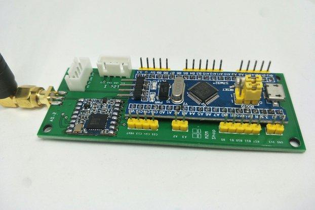 STM32 Blue Pill LoRaWAN node