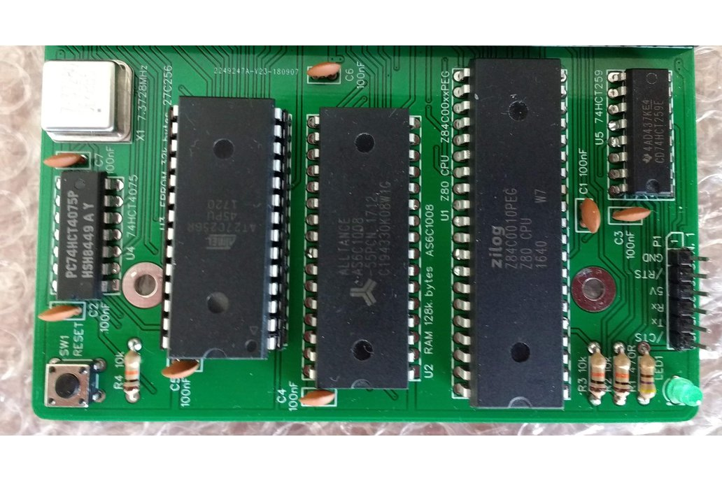 SC114 Z80 Motherboard Kit for RC2014 by Stephen C Cousins on Tindie