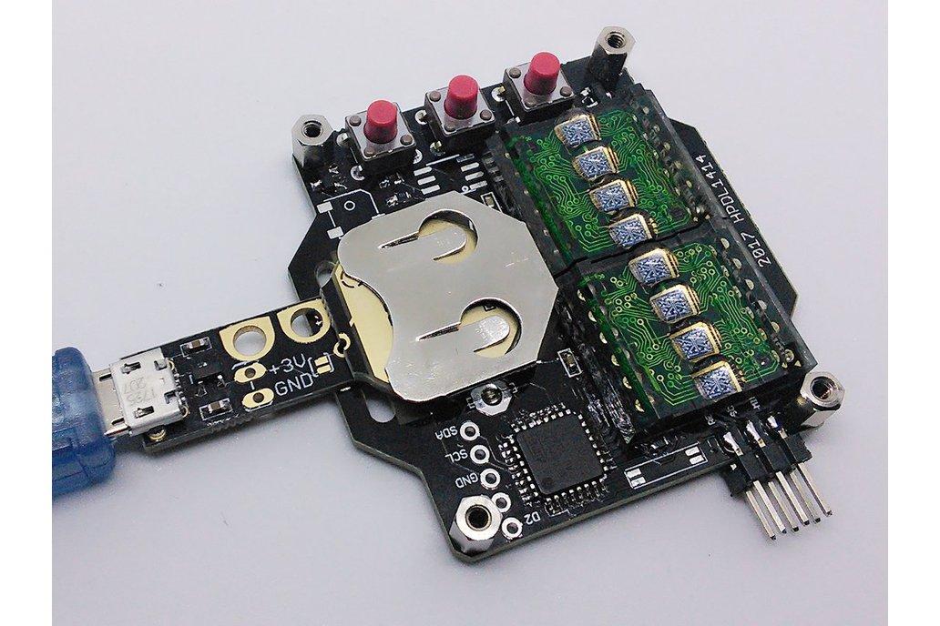Coin cell battery emulator CR2016/CR2032 9