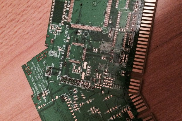 Bare SD2SNES Rev E2 PCB