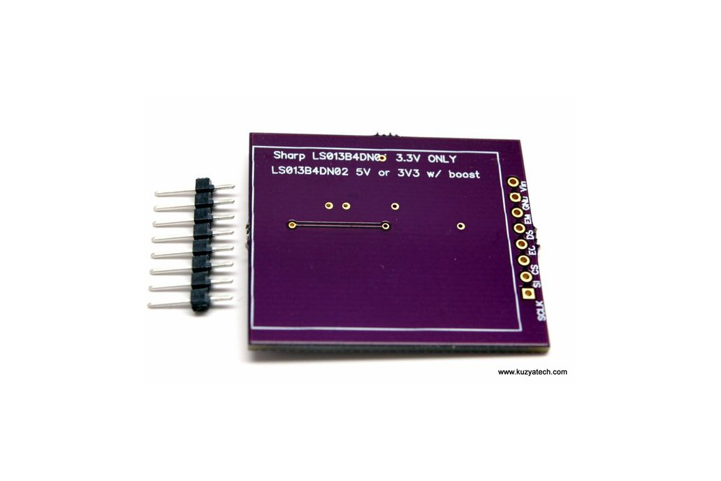 Sharp Memory LCD breakout A2 3