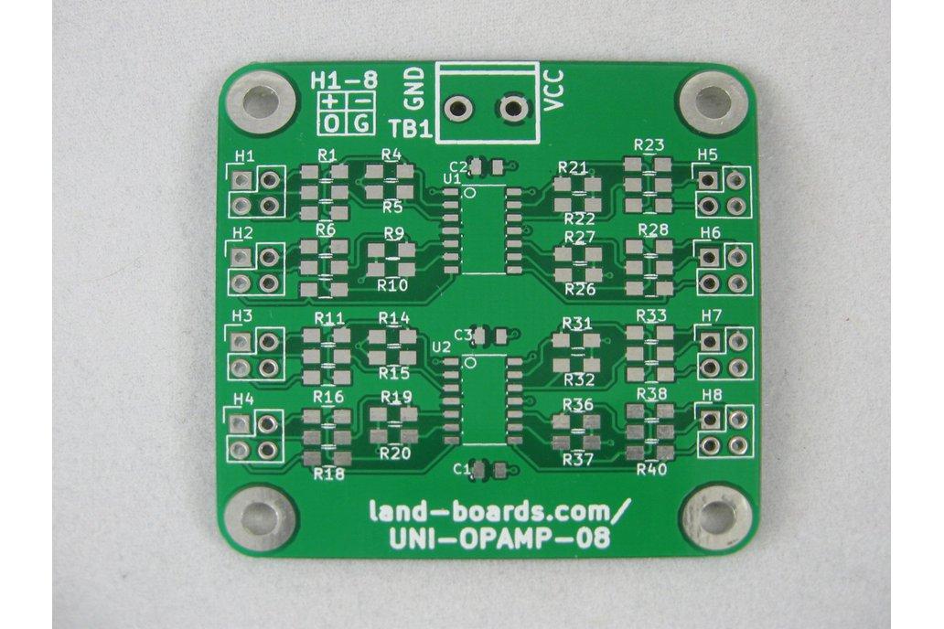 Universal Op Amp Card (UNI-OPAMP-08) 1