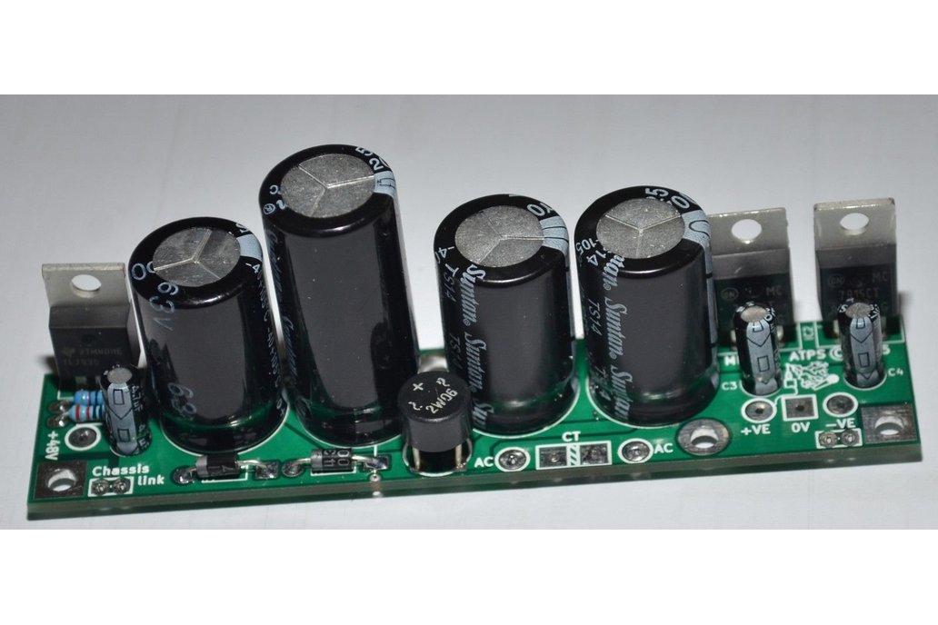small Audio voltage regulator board 1