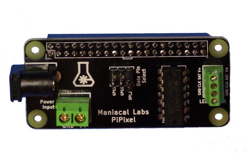 PiPixel - Raspberry Pi LED Strip HAT 1
