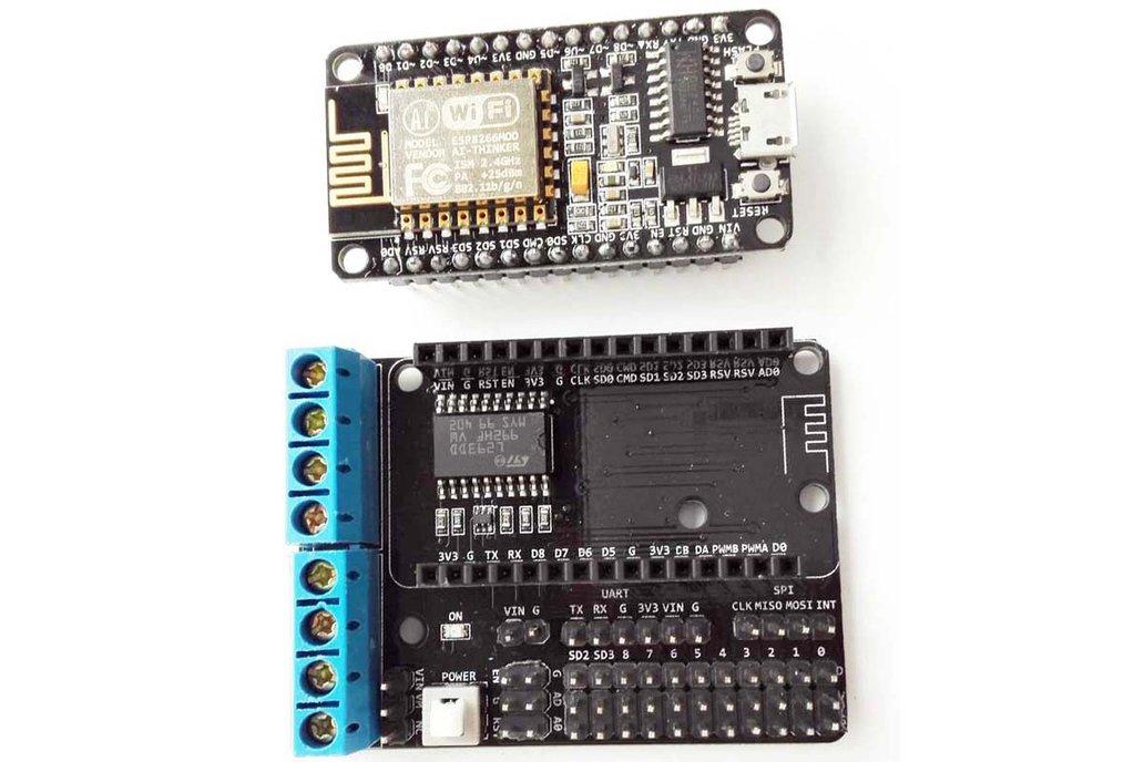 ESP8266 Develop Kit (NodeMCU board+ Motor Shield) 2