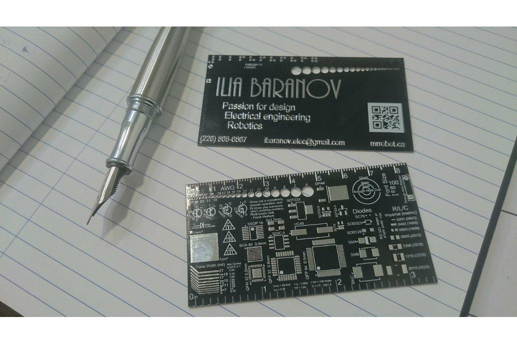 10x Custom PCB Business Card 5