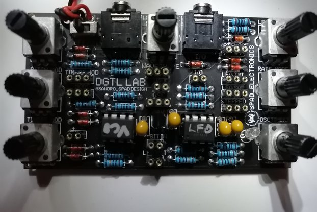 Diy kit, Digital Lab, Kastle bastl clone synth drm