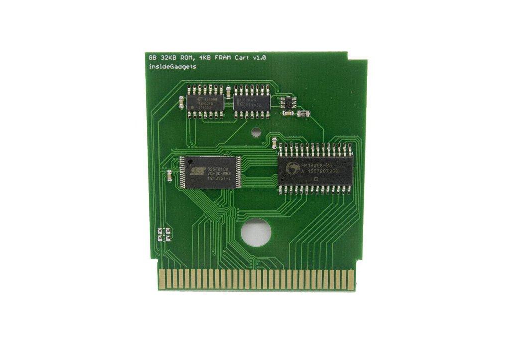 Gameboy 32KB 4KB FRAM Flash Cart 1