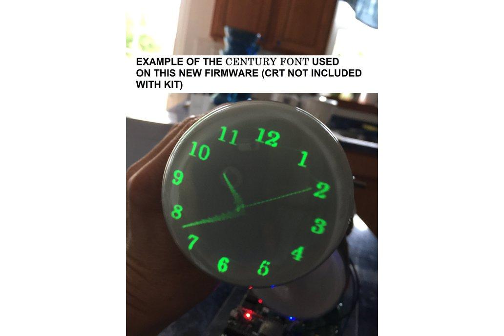 Oscilloscope Clock Kit for many CRT types OSC7.0 1